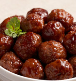 No-Fry Barbeque Beef Meat Balls