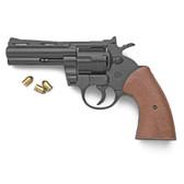 9mm Black Finish Magnum Blank Firing Revolver