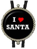 I Love Santa Bolo Tie