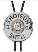 12 Gauge Shell Bolo Tie