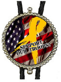 Support Our Troops #2 (Military) Bolo Tie