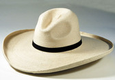"5"" Brim Gus, Med. Crown  Soft Palm Cowboy Hat Sunbody"