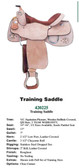 TRAINING SADDLE WESTERN STYLE