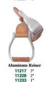 1 Pair Stirrups Aluminum Reiner 3 Inch