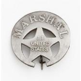 U.S. INDIAN TERRITORY MARSHALL BADGE