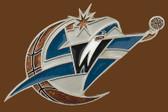 "Washington Wizards NBA Buckle  5"" x 2-1/2"""