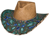 WINDS OF CHANGE Straw Cowboy Hat by Bullhide® Hats.