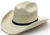 Alligator Palm Cattleman Cowboy Hat