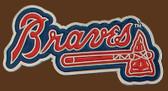 "Atlanta Braves MLB Buckle  3-1/2"" x 1-1/2"""