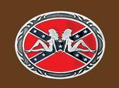 Women on Rebel flag,