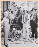 BIG VALLEY AUTOGRAPHED 8x10 Photograph