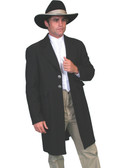 100% Wool Old West Frock Coat  WORN IN THE MOVIE TOMBSTONE Worn By Cowboys Of The Old West