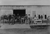 Blacksmiths Photograph 8x10 Of The Old West