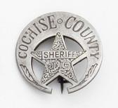 Cochise County Marshal Badge