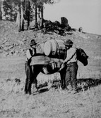 Couple Old Prospectors Photograph 8x10 Of The Old West