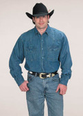 Cowboy Western Denim Shirt