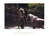 Cowgirl n' Horse Artist: David R. Stoecklein