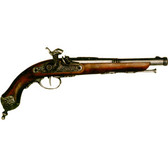 1825 Italian Percussion Pistol - Pewter