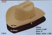 Dallas Cougans Bluff Cowboy Hat Top Quality