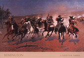 Dash for Timber Artist: Frederic Remington