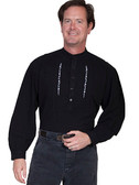 Embroidered Mens Western Shirts Snap Closures