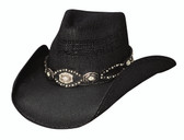 EVENIN GLOW Straw Cowboy Hat by Bullhide® Hats.