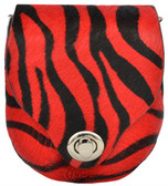 Angel Ranch Red Zebra Purse