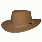 Fishnet All Leather Cowboy Hat
