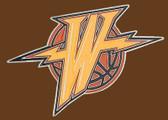 "G.S. Warriors NBA Buckle - 4-1/2* x 2-1/4"""