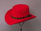 Gambler Cowboy Hat Faux Wool Felt 7069