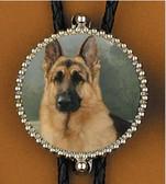 German Shepherd Bolo Tie