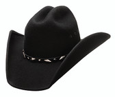 """Guns shapeable felt cowboy hat by Bullhide® Hats frome the Justin Moore Signature Collection.  Brim: 4""""  Available in sizes Small, Med, Large, XL."""