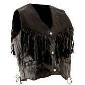 Hawg HIde Fringed Vest