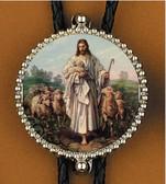 Jesus the Good Shepherd Bolo Tie