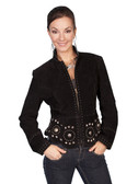 LADIES BOAR SUEDE JACKET 62325