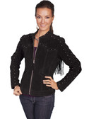 BLACK BOAR LADIES SUEDE JACKET 62368