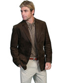 LEATHER BLAZER.  BY SCULLY
