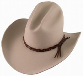 LONESOME DOVE WESTERN GUS Cowboy Hat idendical to Gus' hat Grey CUSTOM MADE RODEO KING SIZES 6 7/8 - 7 3/45/8