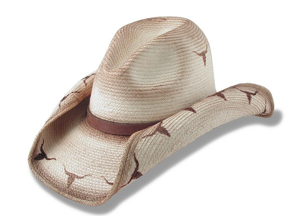 a2ff9826ba1 Longhorn Brand-Gus Cowboy Hat. Image 1