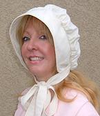 Muslin Cotton Trek Womans bonnet