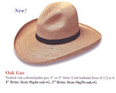 NEW 2009 OAK GUS Cowboy Hat Cowboy Hat