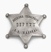 OLD WEST ARIZONA DEPUTY MARSHALL BADGES