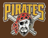 "Pittsburgh Pirates MLB Buckle  2-3/4"" x 2-1/4"""
