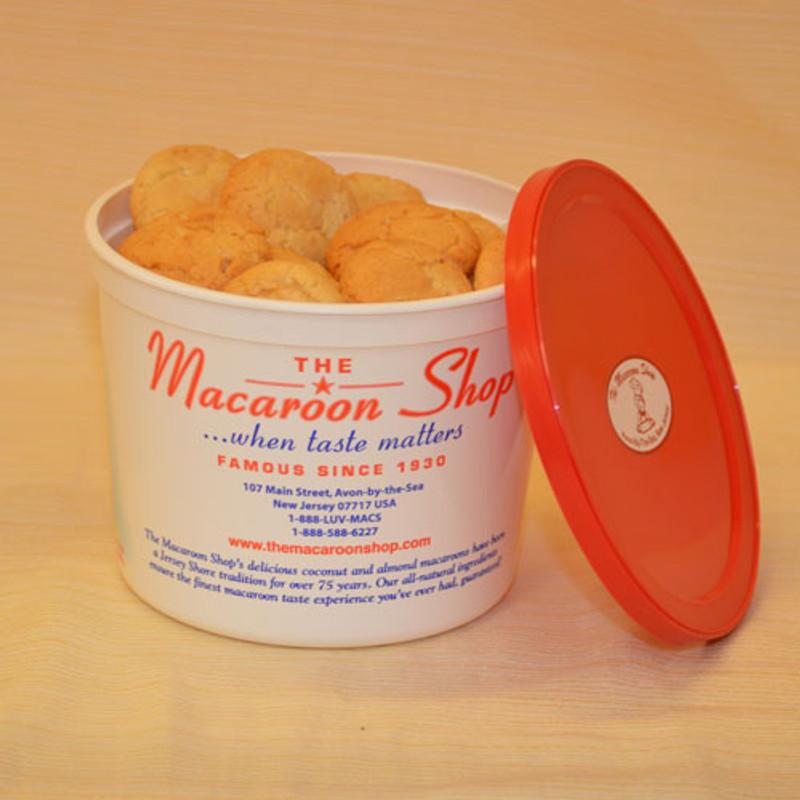 Gourmet Almond Macaroons 1 lb Tubs