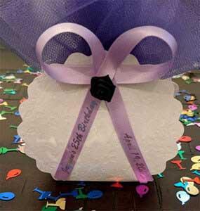 Lavender Favor Ribbon