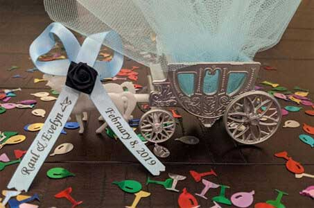 Wedding Personalized Ribbon