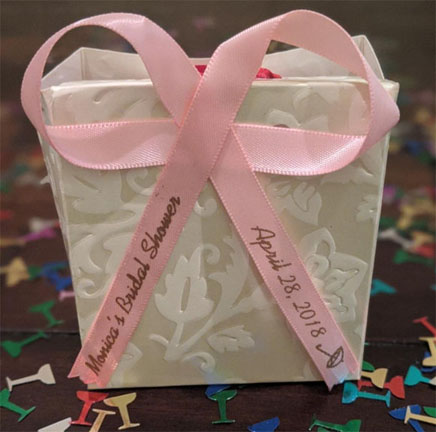 Bridal Shower Ribbon