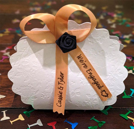 Gold Personalized Ribbon