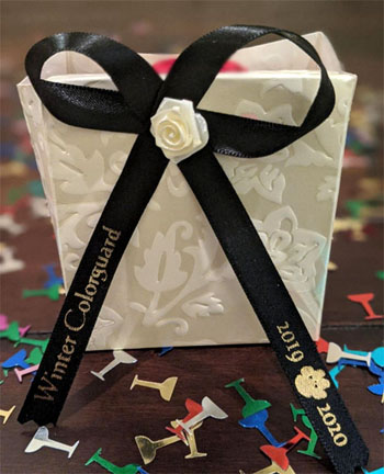 Black Favor Ribbon