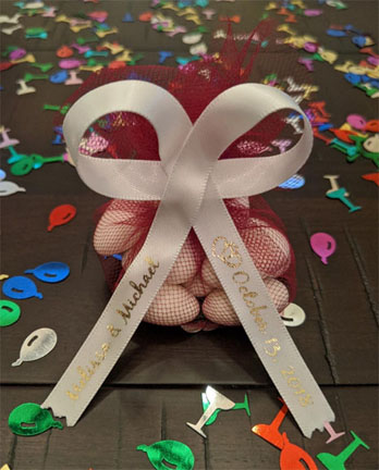Wedding Favor Ribbon